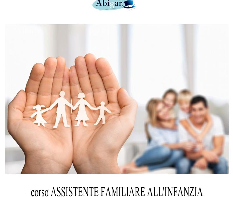 ASSISTENTE FAMILIARE ALL'INFANZIA